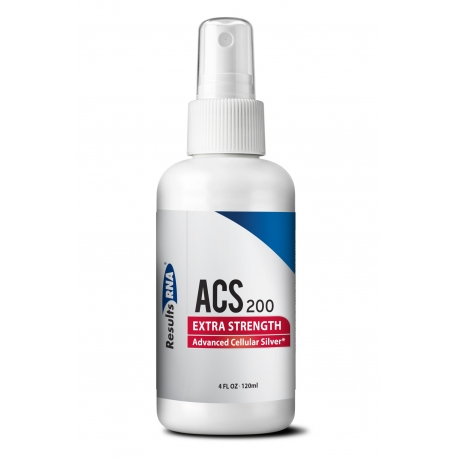 Advanced Cellular Silver (ACS) 200® Extra Strength 4oz / 120ml Silver Spray